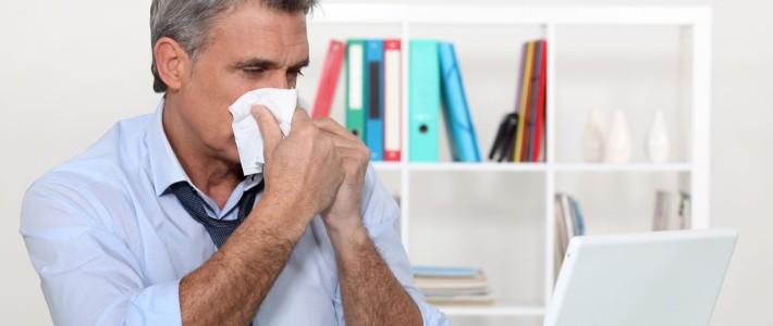 Причины возникновения «офисной» аллергии.
